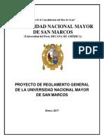 Reglamento General Final de La UNMSM EVAR v23 Enviado Dra Canales Rectora(e)