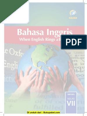 Buku Bahasa Inggris Kelas 7 Revisi 2016 1 Pdf Indonesia Languages