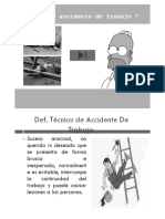 Accidentes de Trabajo Folleto