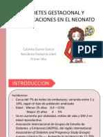 DIABETES GESTACIONAL Y COMPLICACIONES NEONATALES.pptx