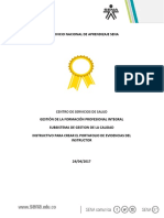 Instructivo Portafolio Instructor-Salud sena