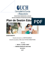 Plan Educativo Enamoramiento
