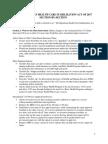 Alexander-Murray Section Summary