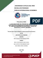 Ccoa Ybarcena La Implementacion Del Tratado de Libre Comercio Peru Chile en Los Despachos de Agro Exportacion