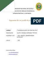 Perfil de Proyecto Tovar