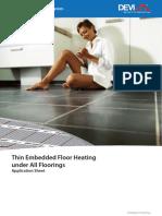 Thin Embedded Floor Heating Application VAFTA102 Hi Res