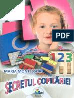 Secretul Copilariei - Maria Montessori
