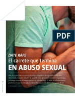 Date Rapr y Violencia Sexual