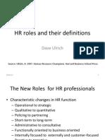 Ulrich 1997 HR Roles