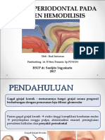 Status Periodontal Pada Pasien Hemodilisis