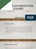 análisis de dispositivos solares