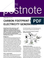 Carbon Footprint of Electricity Generation_ghg