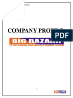 Big Bazar Company Analysis