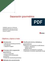 Clase 1.- Generalidades y Separación Por Medios Densos (1)