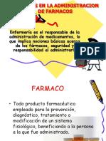 Enfermería Administracion de Farmacos