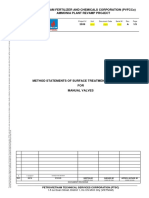 Method Statements of Surface Treatment and Painting for Valves Nh3 Project