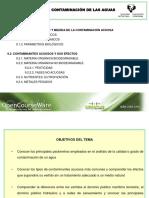 Tema 9. Contaminacion de Las Aguas
