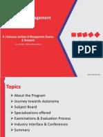 MMS Programme PPT 2017 19