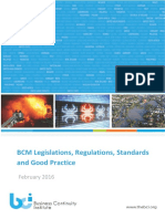 Bc m Legislations and Regulations