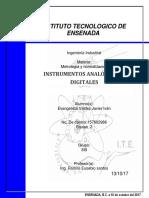 Instrumentos Analógicos y Digitales