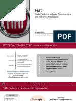 Cambiamento organizzativo in Fiat