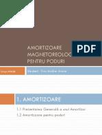 Prezentare Amortizoare Magnetoreologiece
