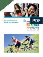Committment to Health & Wellness