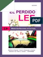 Propuesta Maratón Lectura 2015
