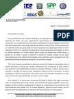 Carta Sindicatos Pn y Asociaciones Gc a Ministro Interior 17102017