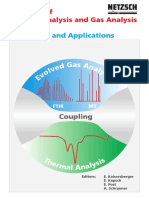 Coupling of Thermal Analysis and Gas