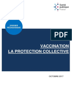 Vaccination. Le dossier de Santé publique France