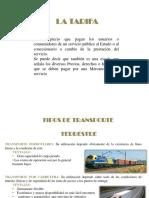 TRANPORTE TERRESTRE