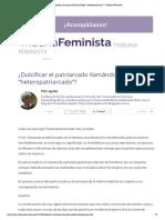 Pilar_Aguilar_Dulcificar_patriarcado_llamándolo_heteropatriarcado_Tribuna_Feminista