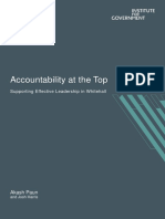 Accountability at the Top - Final