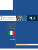 Italy Financial Standards Report
