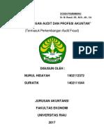 Rmk Audit Forensik Kel. 3