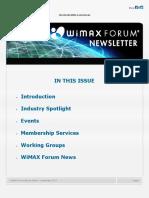 WiMAX Newsletter September 2017