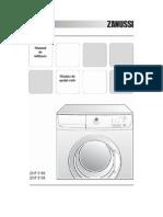 Manual de Utilizare ZANUSSI 5105