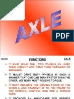 1. Axle