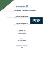 Evaluación de la situación ambiental de la reserva natural Ibera, Argentina