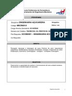 Bl 10 - Prog. Engenharia Acucareira