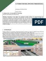 Execucao de Tunel Viario Sob Rio Em Zona Urbanizada Em Lima Peru Raraujo Paraquedas