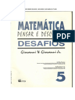 matemática pensar e descobrir desafios  giovanni e giovanni jr 6° ano