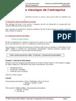 Premiere Partie Chapitre 1 Lapproche Classique de Lentreprise (1)