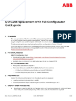 2VAA007641 B en Procontrol P13 IO Card Replacement Quick Guide