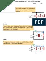 Worksheet # 6 Unit 2
