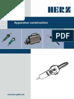 HERZ Catalog de Aparate de Sudura Materiale Termoplastice