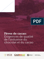 Feves de Cacao Exigences de Qualite de l Industrie Apr 2016_Fr