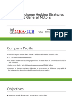 Foreign Exchange Hedging Strategies at General Motors - Syndicate CRM