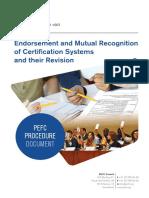 PEFC GD 1007-2017 Endorsement Process